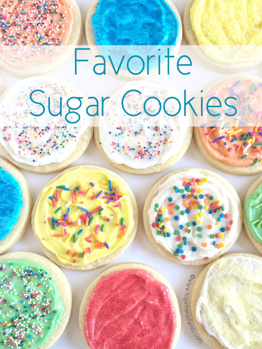 Favorite Sugar Cookies