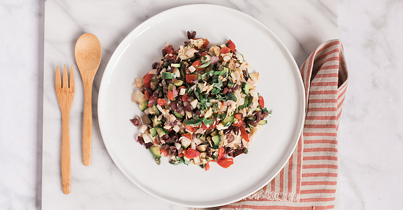 The Mediterranean Chopped Salad Perfect for Summer