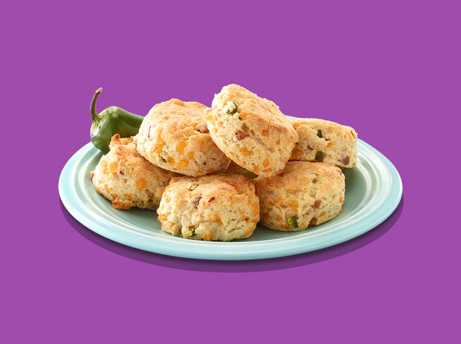 SPAMalicious™ Jalapeño Cheddar Biscuits