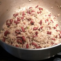 Simply Caribbean Peas and Rice