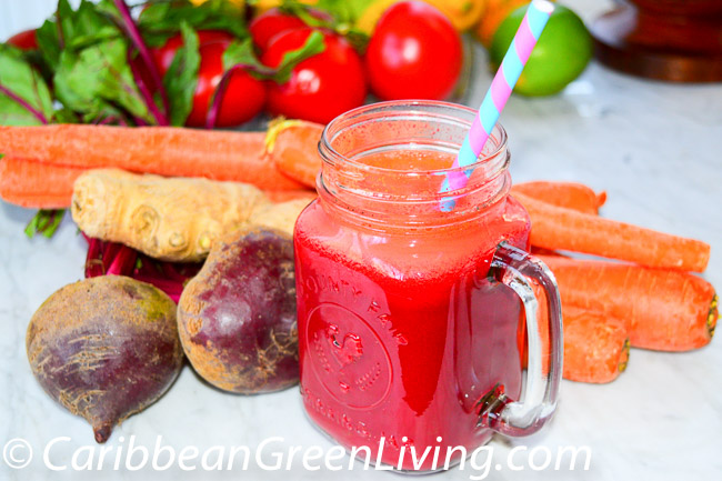 Beet, Spinach and Carrot Juice – my energy drink