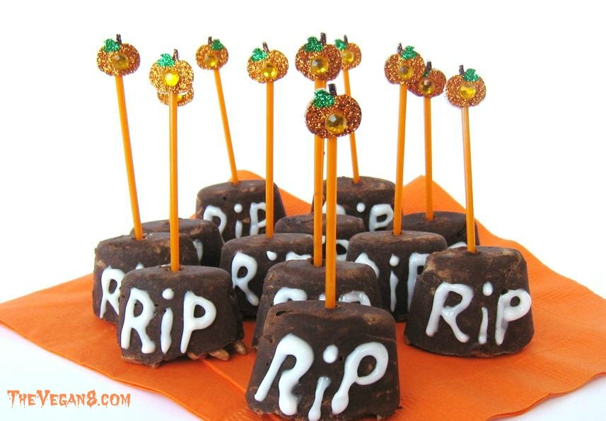 Halloween Rusty Tombstone Candy