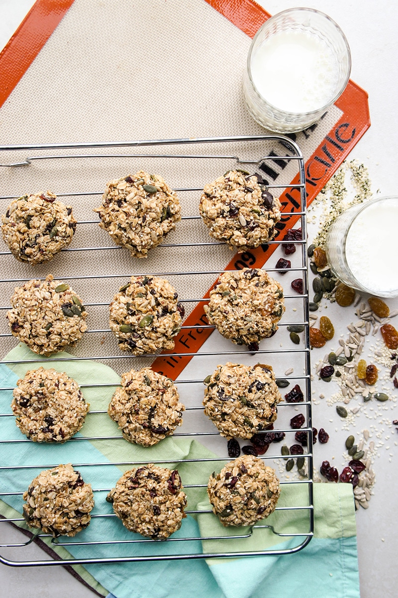 Irresistible Chewy Granola Cookies