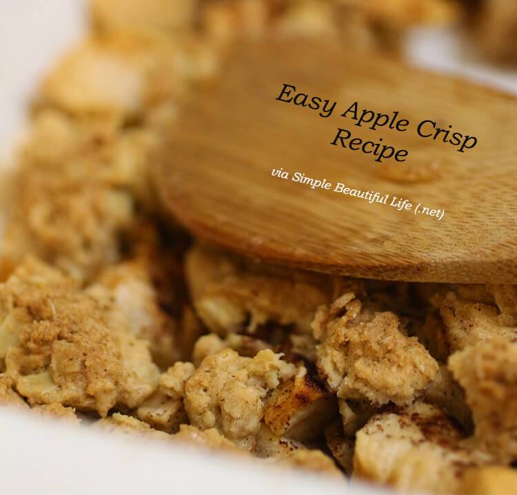 Easy Apple Crisp Recipe and Marie Callender's Pot Pie for a Stress Free Holiday