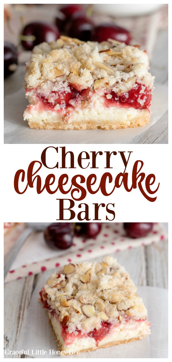 Cherry Cheesecake Bars