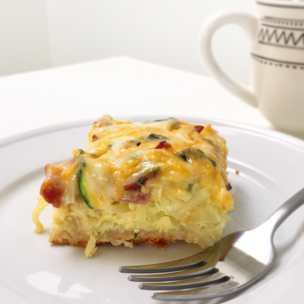 Healthy Breakfast Toddler Casserole