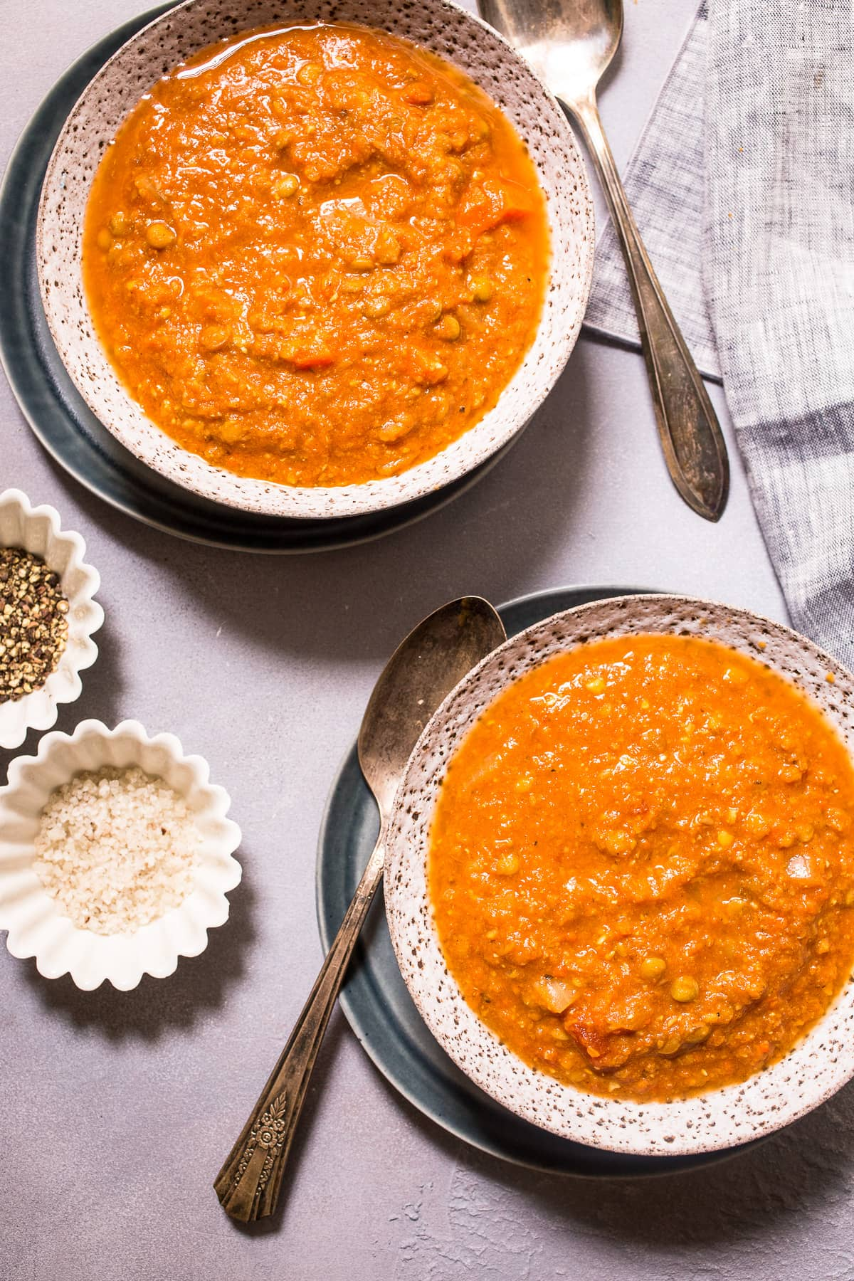 Curried Tomato Lentil Soup