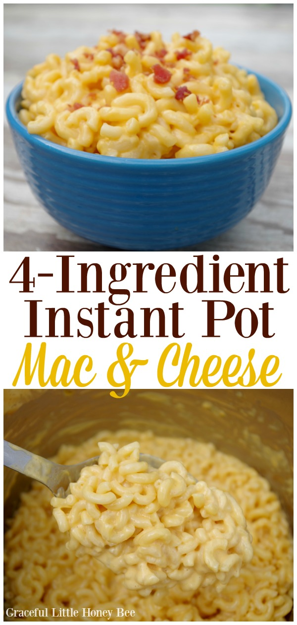 4-Ingredient Instant Pot Mac and Cheese