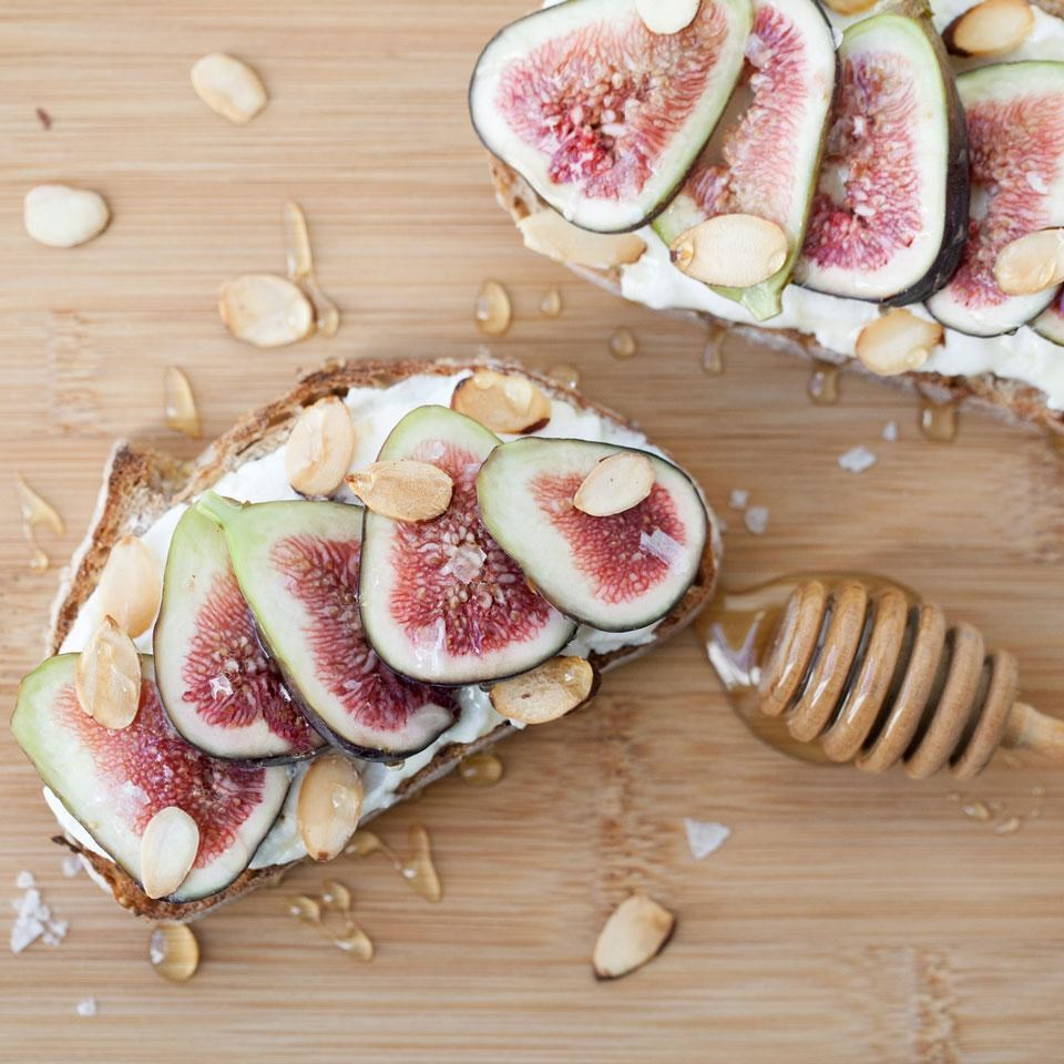 Fig & Ricotta Toast