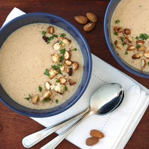 Almond Cauliflower Soup