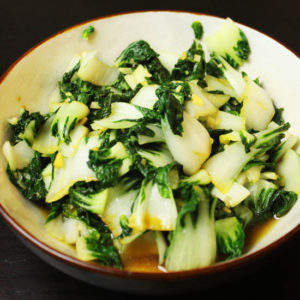 Garlic Bok Choy Recipe