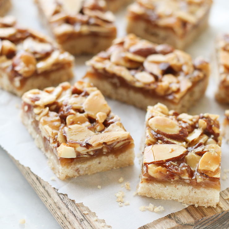 Honey Cinnamon Almond Squares