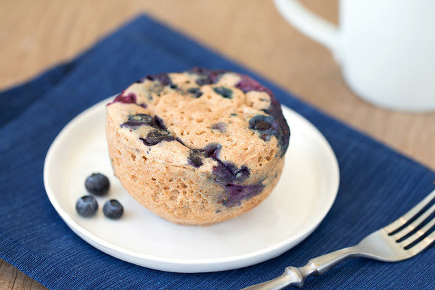 Bursting-with-Blueberries Muffin in a Mug