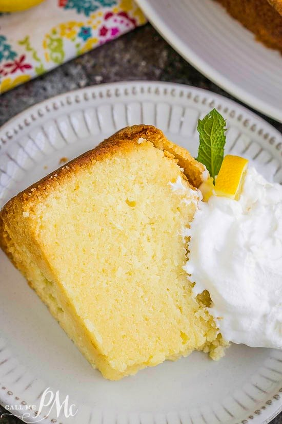 Best Triple Lemon Pound Cake Recipe