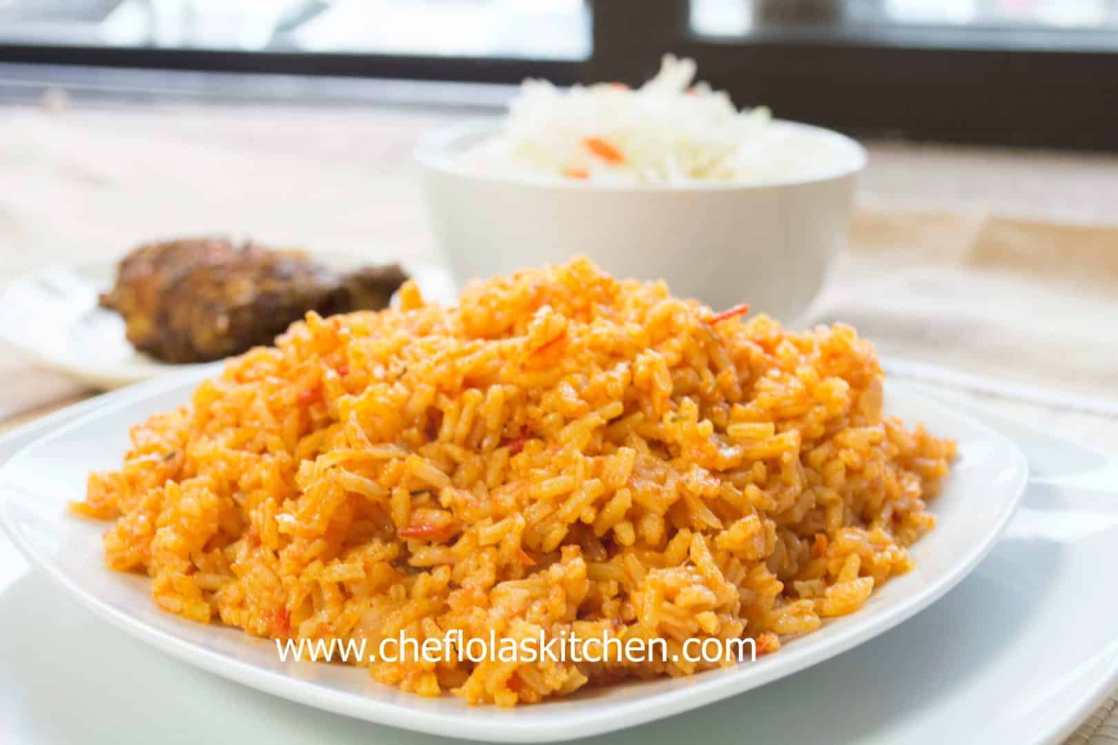 The Party style Basmati Jollof Rice
