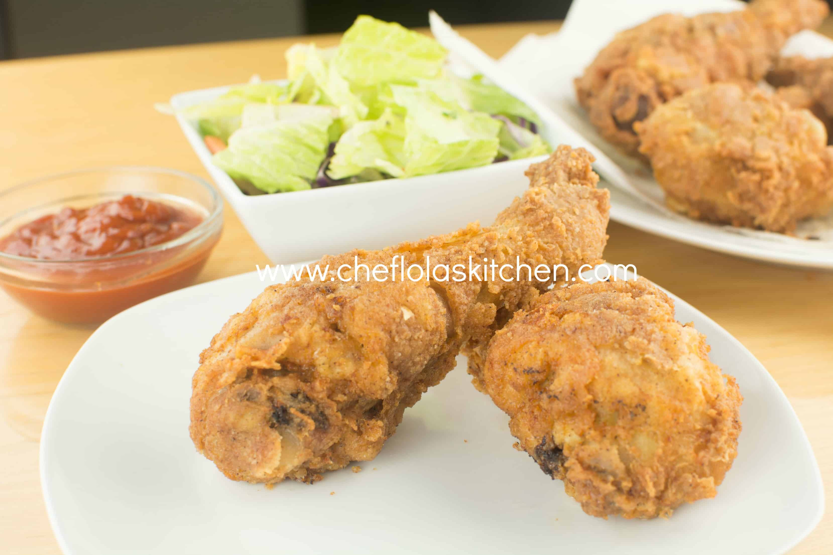 Crispy Fried Chicken Drumsticks