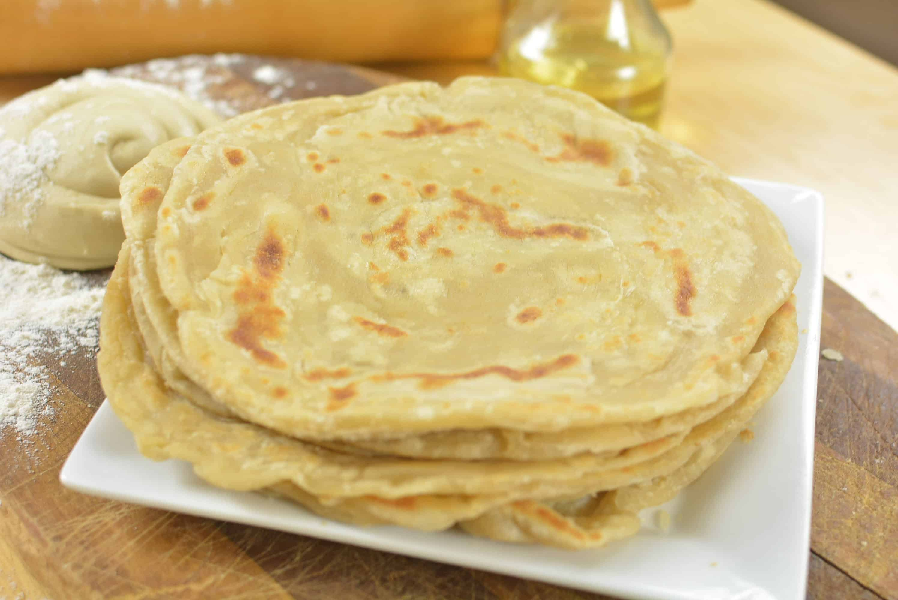 East African Chapati Recipe - How to make Chapati