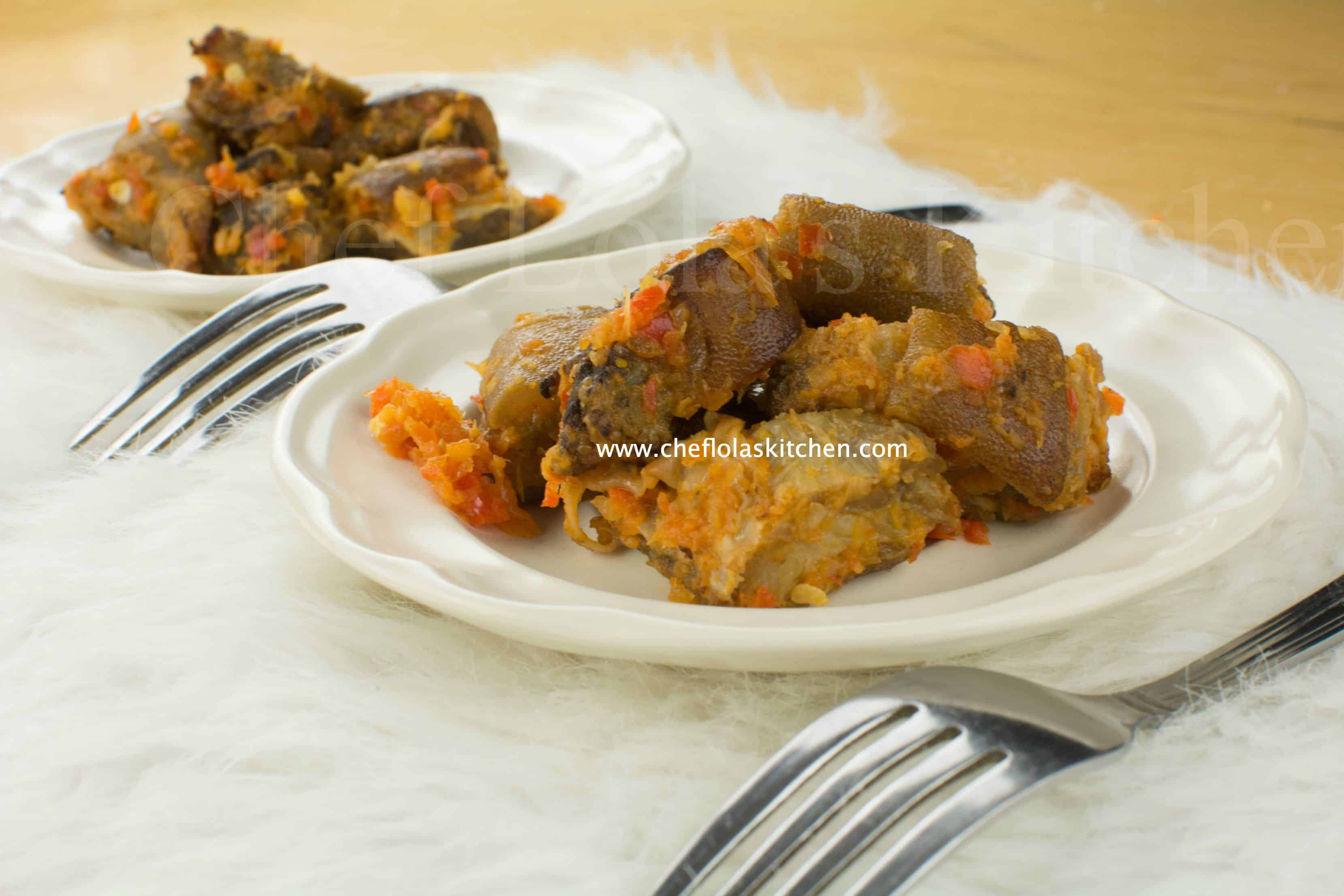 Asun (Smoked Goat Meat)