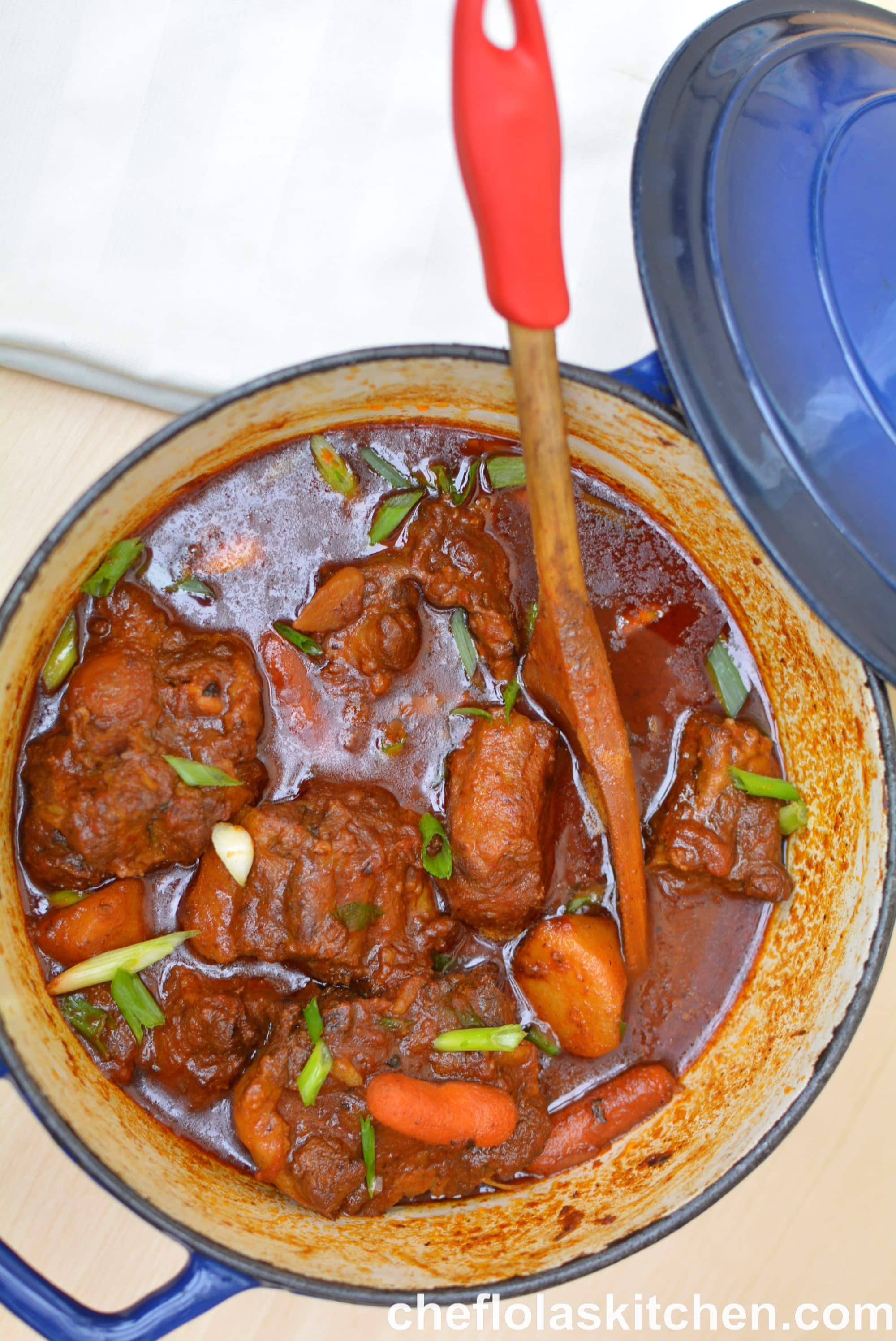 Best Oxtail Stew (Jamaican Style)