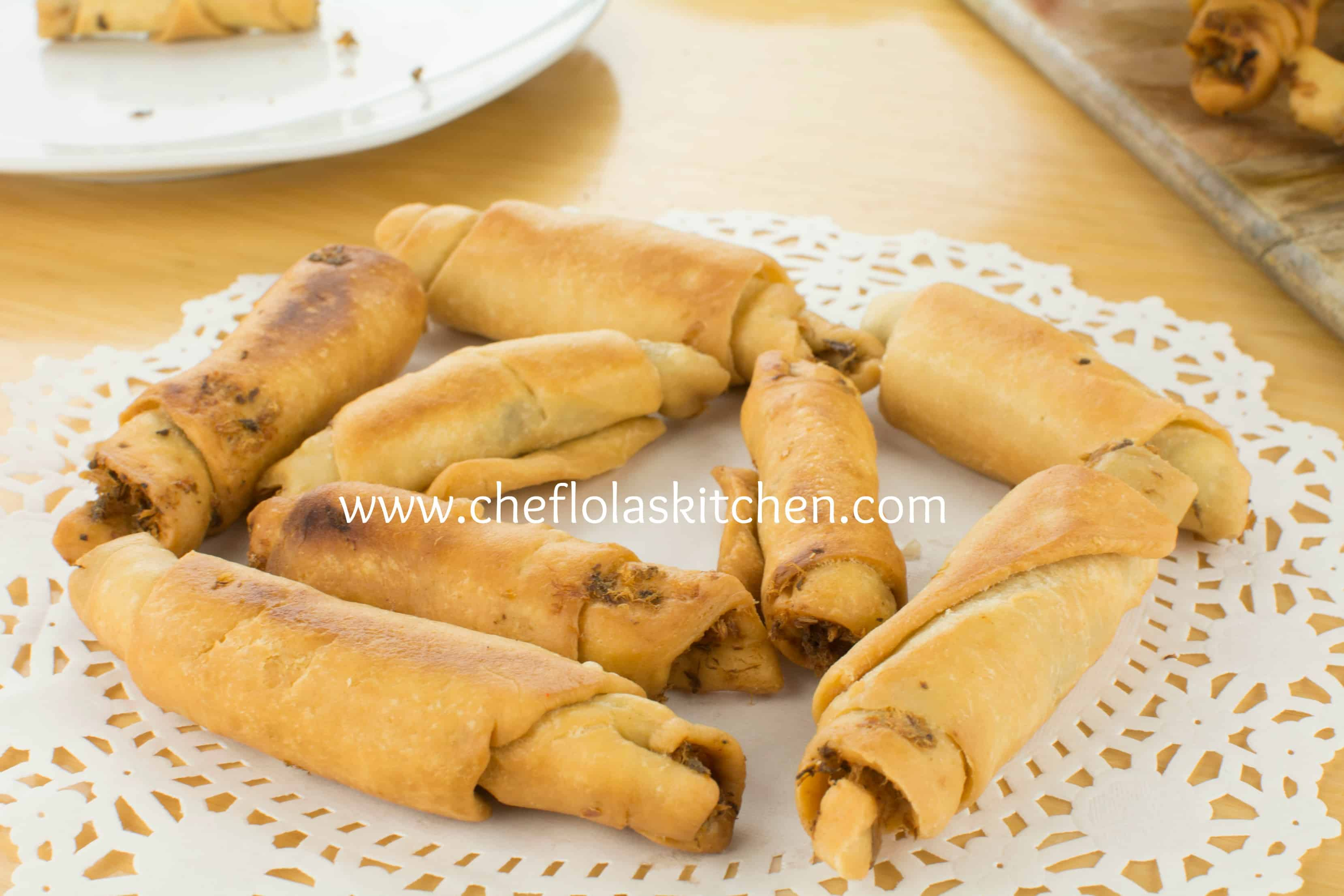 African Fish Pastry