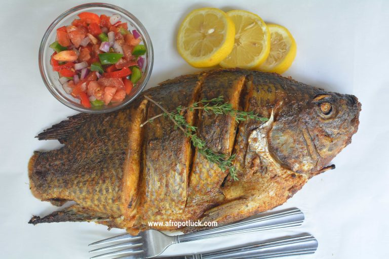 Easy Oven Grilled Tilapia