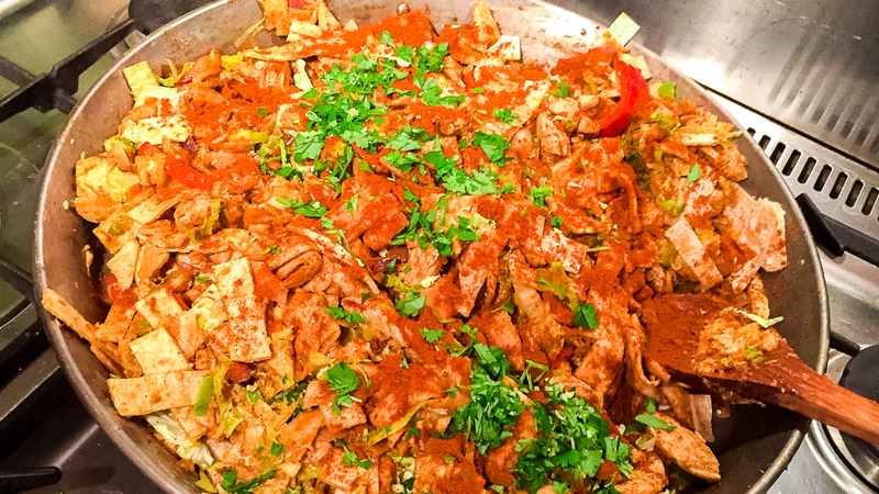 Recipe:  Sri Lankan Chicken Kottu Roti
