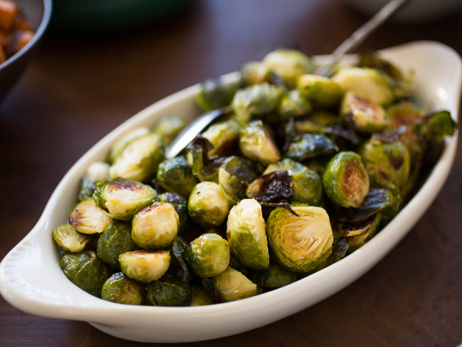 Roasted Brussels Sprouts and Shallots With Balsamic Vinegar Recipe