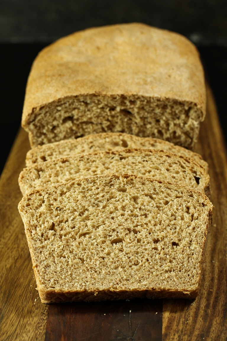 Vegan Whole Grain Sandwich Bread