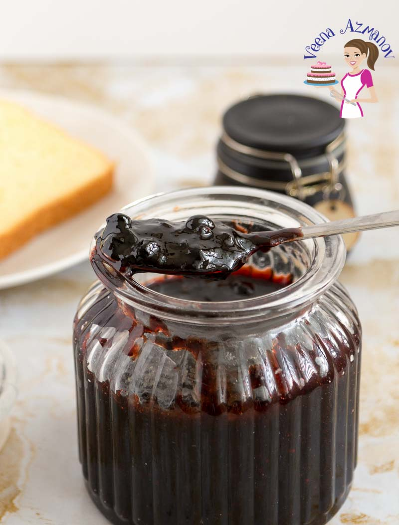 Homemade Blueberry Jam without Pectin (low sugar)