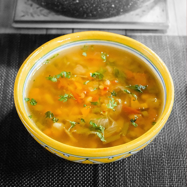 Spicy Moroccan Lentil Soup Recipe