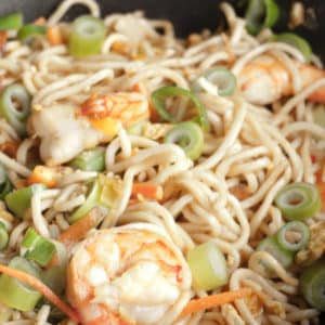 Singapore Noodles - Singapore Chow Mein - Stir-fried Asian Noodles
