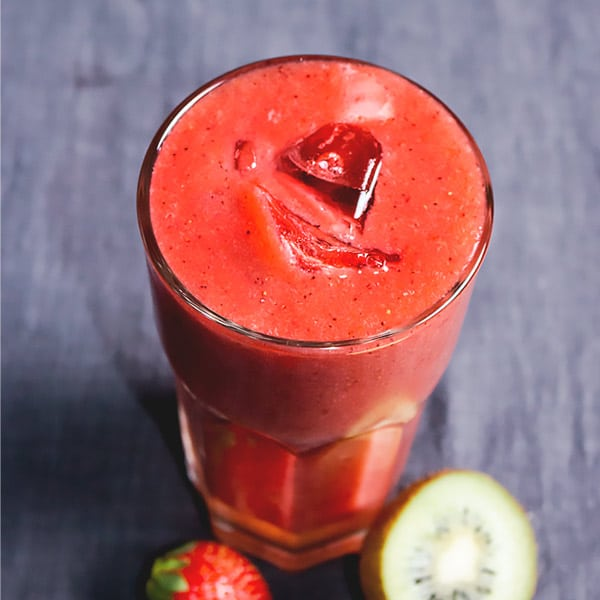 Strawberry Kiwi Juice Recipe