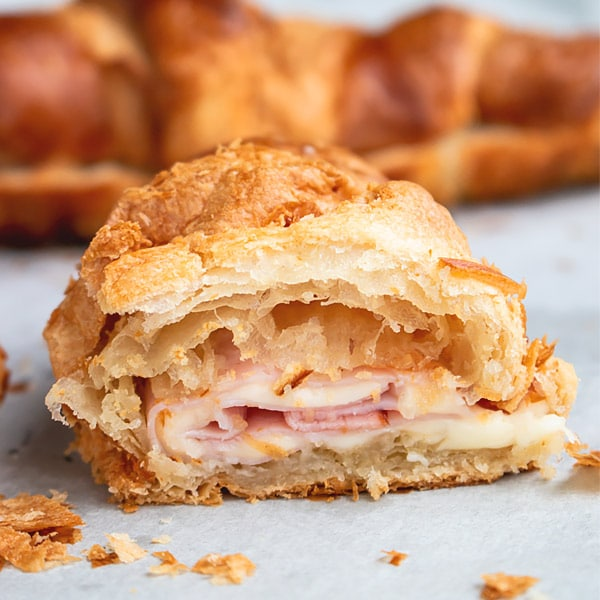 Ham and Cheese Croissant Recipe
