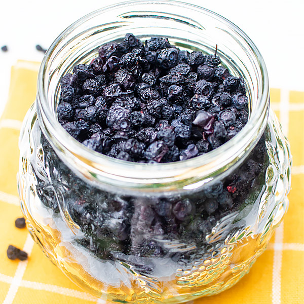 Dehydrated Blueberries Recipe