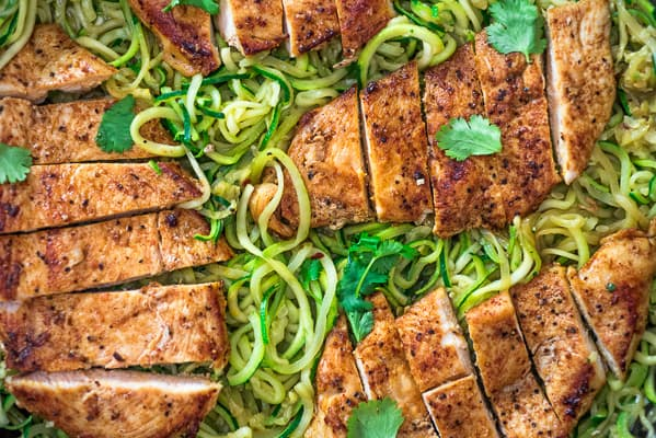 QUICK & EASY CHICKEN AND ZOODLES