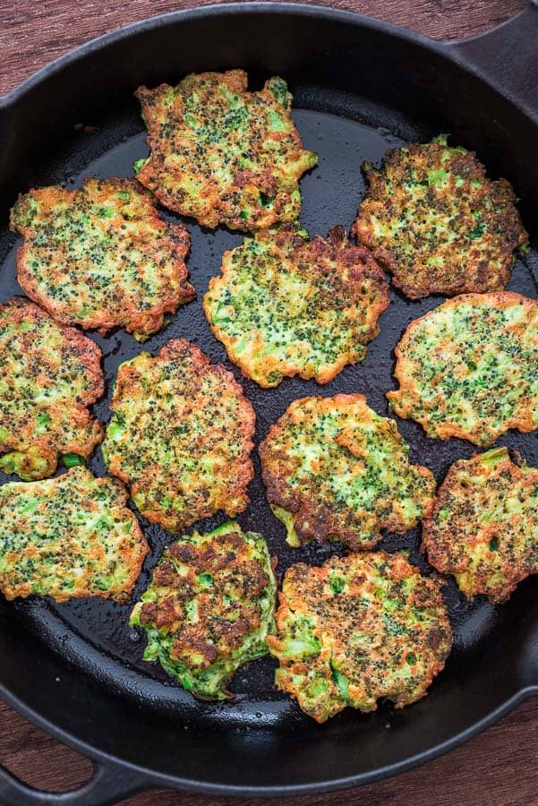 BASIC BROCCOLI FRITTERS