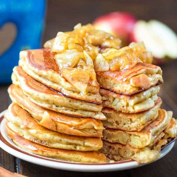 Mom's Apple Pancakes