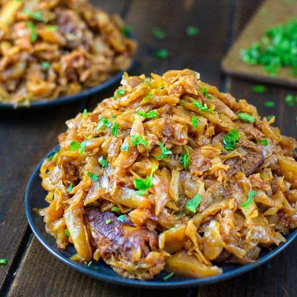 Cabbage with Ribs
