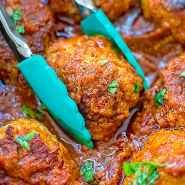 Easy Sausage Meatballs