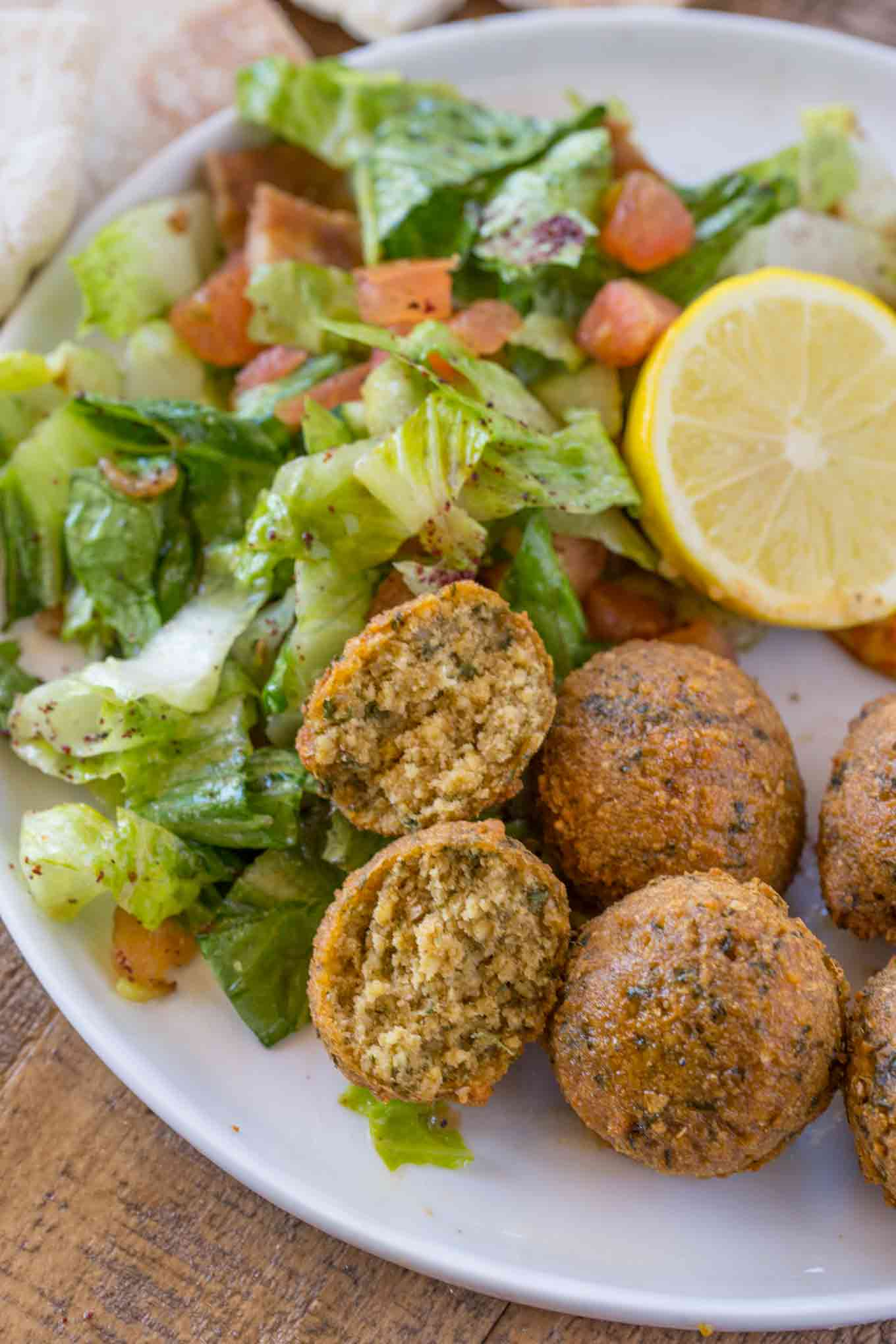 Classic Falafel (No Canned Beans)