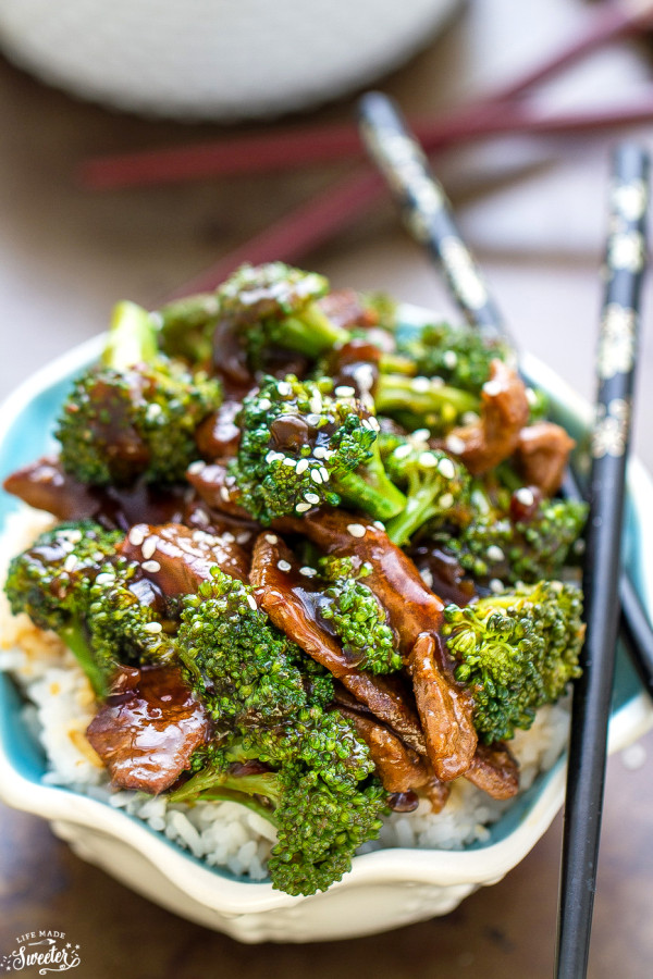Beef and Broccoli + RECIPE VIDEO