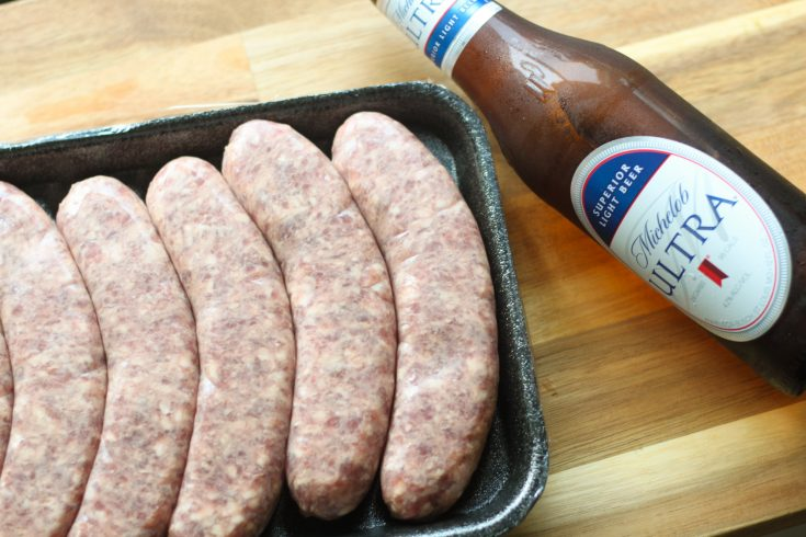 Easy Low Carb IP Beer & Brats