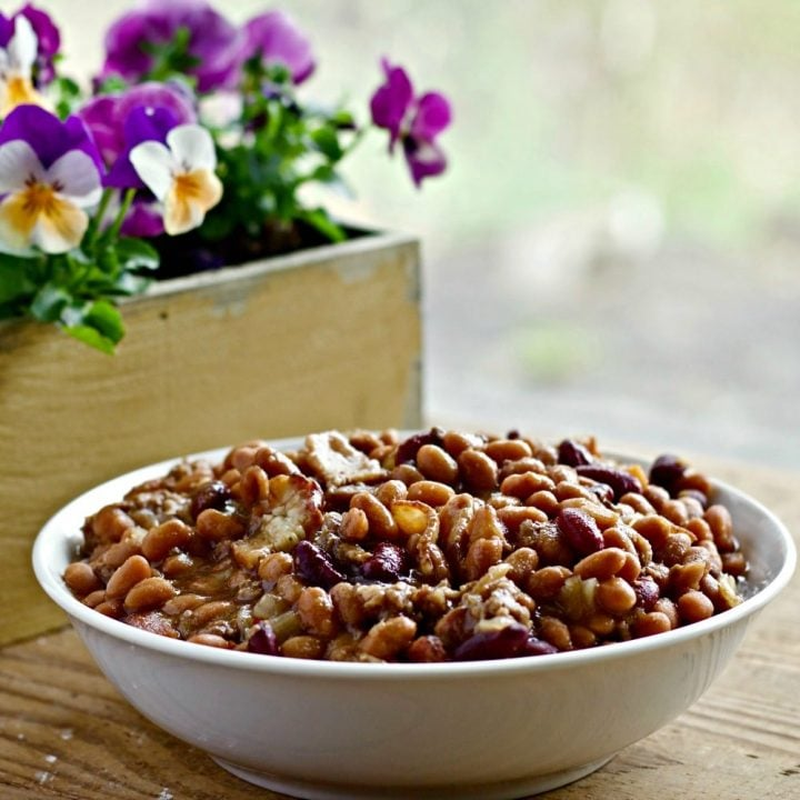 Three Bean Hot Dish