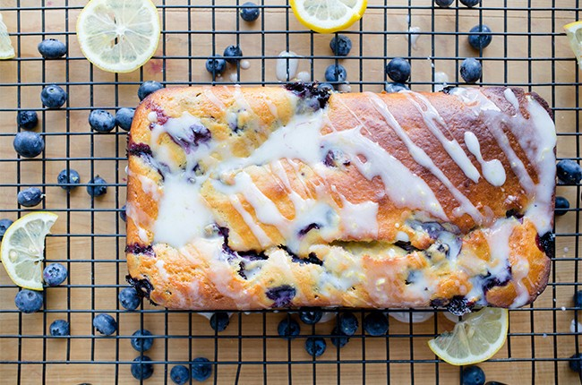Recipe: Blueberry Lemon Yogurt Loaf