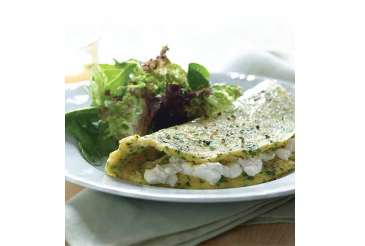 Fines Herbes Cheese Omelet
