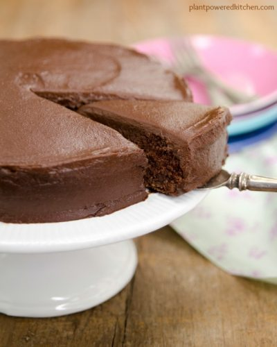 Sweet Potato Chocolate Cake with Chocolate Sweets Frosting