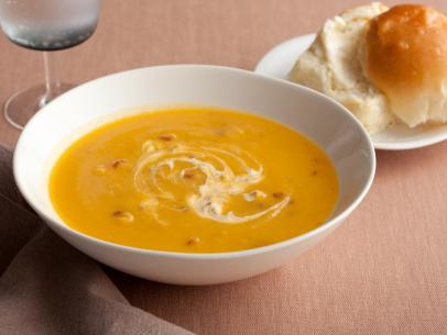 Butternut Squash Soup with Chipotle Cream