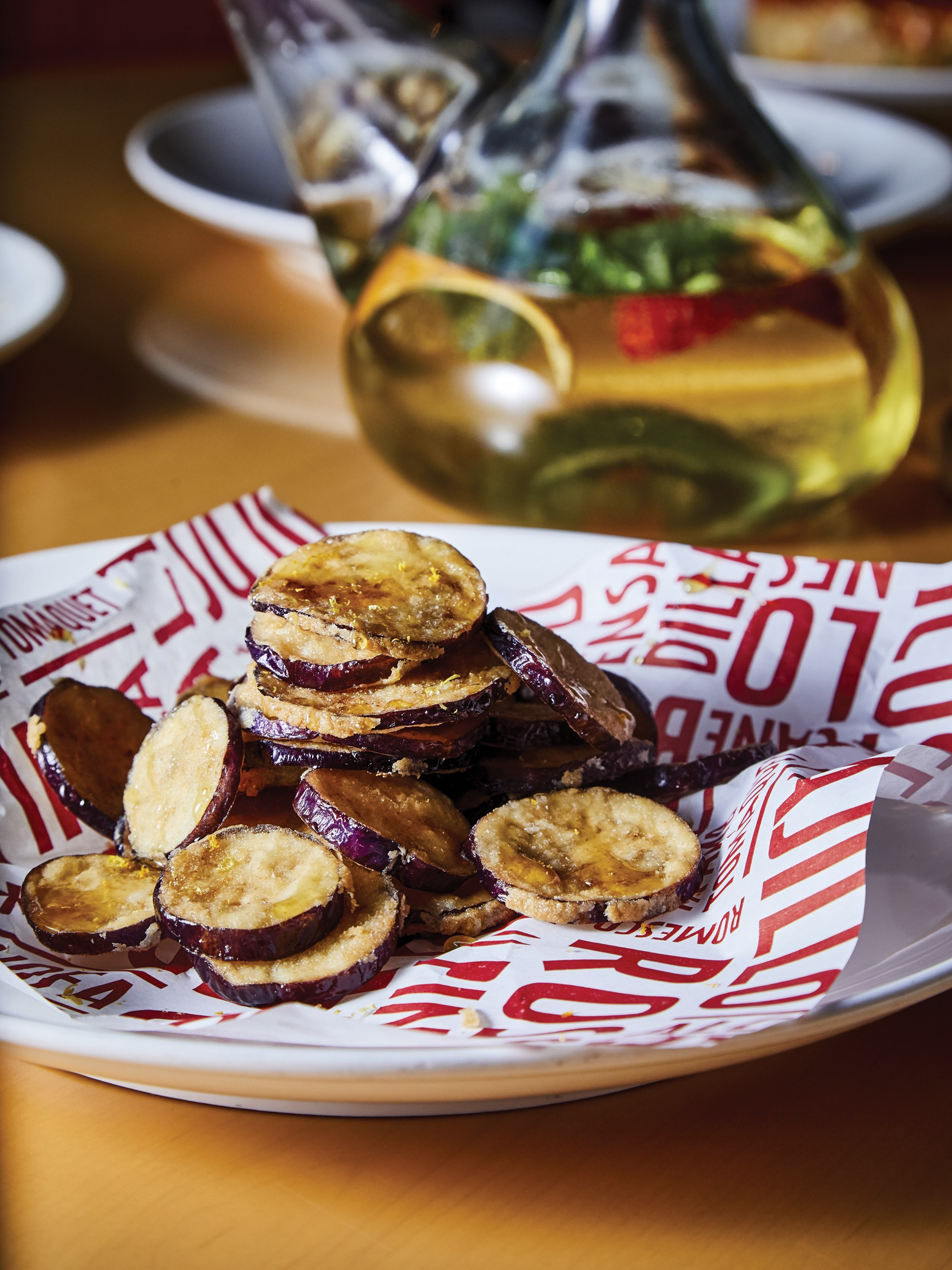 Fried Eggplants with Honey (Berenjenas con Miel)