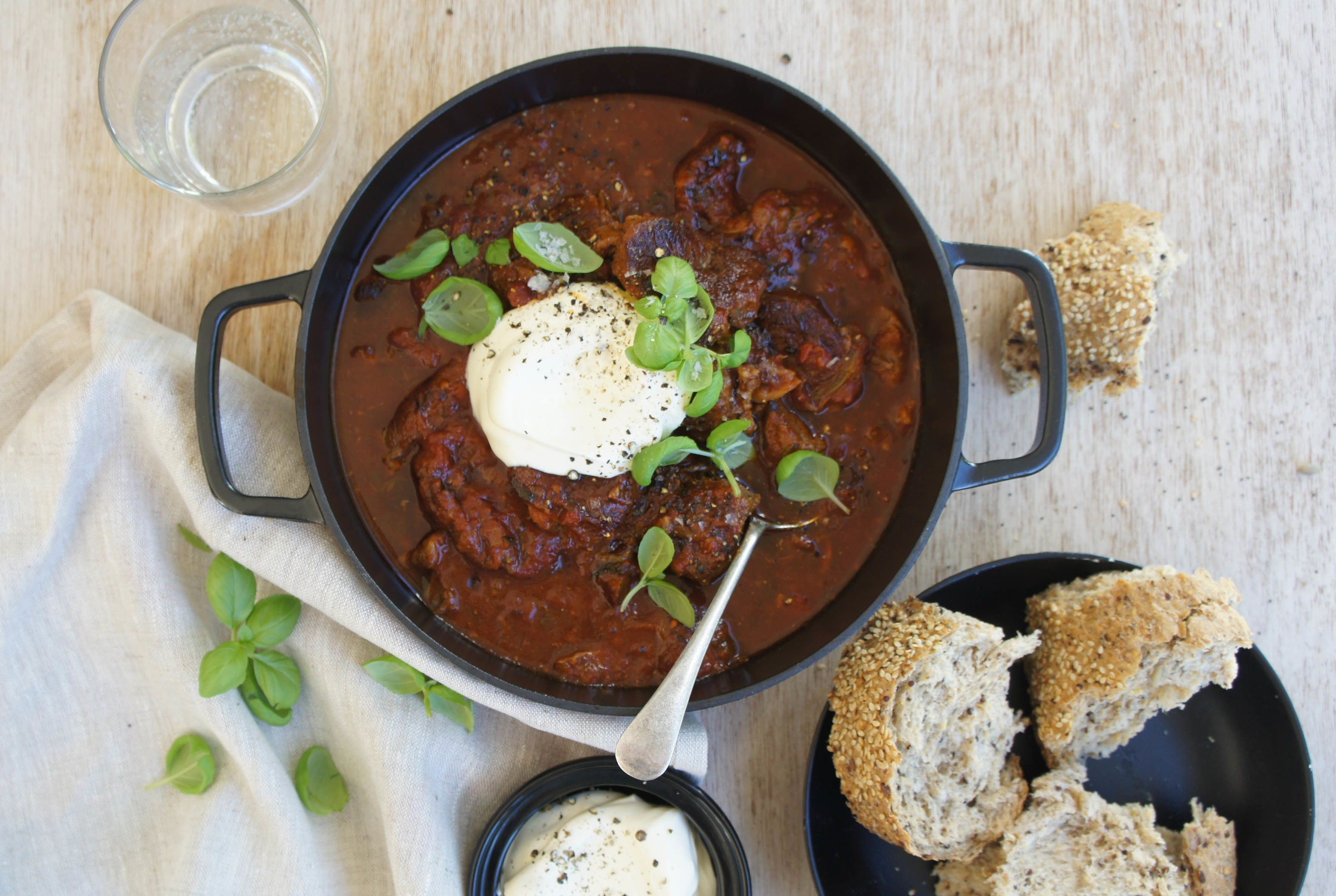 Slow-Cooked Beef Goulash recipe