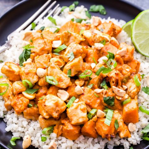 Skillet Thai Chicken and Sweet Potato Curry
